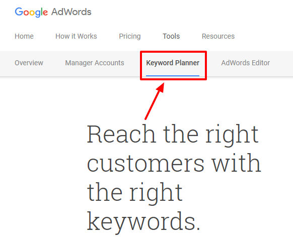 How to increase website traffic with Keyword Planner – Google AdWords