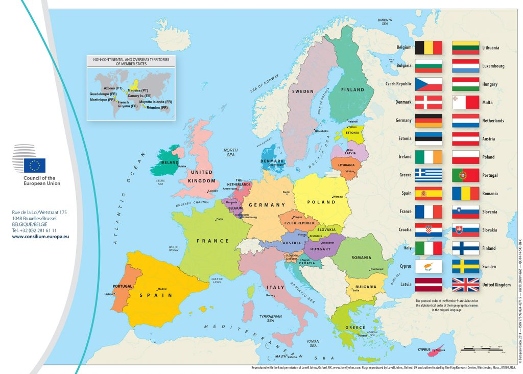 List of EU Countries