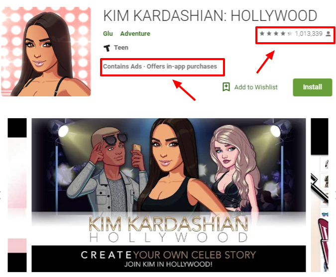KIM KARDASHIAN HOLLYWOOD Apps on Google Play